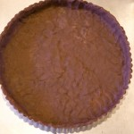 Empty crust for chocolate tart