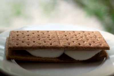 Microwave s'more