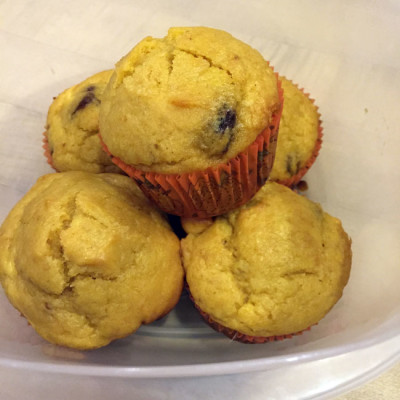 Last five pumpkin muffins