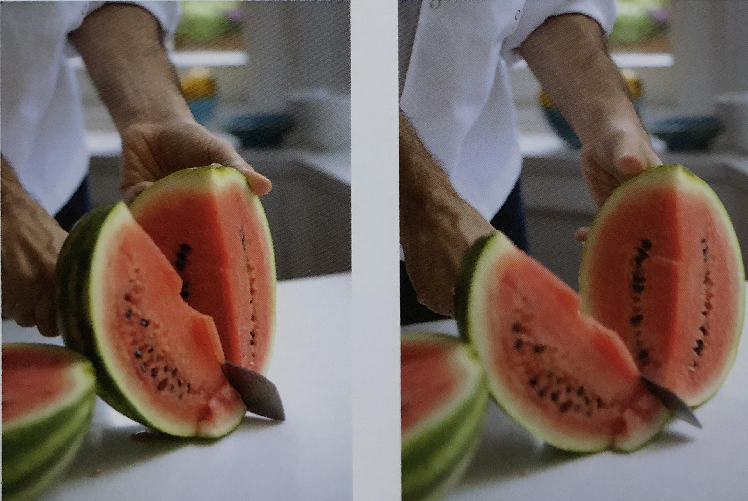 watermelon cuts